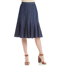 Studio West Short Denim Skirt