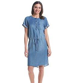 Nine West Jeans® Popover Shirt Dress