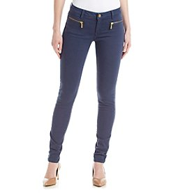 MICHAEL Michael Kors® Skinny Zip Denim Pants