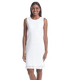 Ronni Nicole® Circle Lace Shift Dress