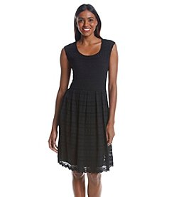 Ronni Nicole® Lace Fit And Flare Dress