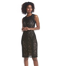 Ronni Nicole® Lace Scuba Dress