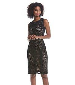 Ronni Nicole® Lace Scuba Dress