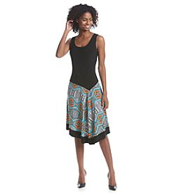 Prelude® Patterned Tank Dress