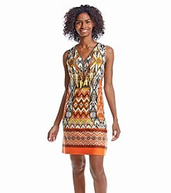 Prelude® Patterned A-Line Dress
