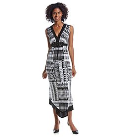 R&M Richards® Scarf Hem Maxi Dress