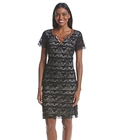 Sangria™ Lace Shift Dress