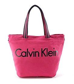 Calvin Klein Canvas Tote