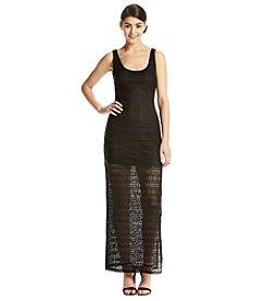 GUESS Crochet Maxi Dress