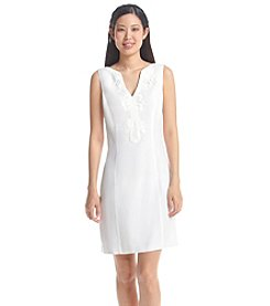 Eliza J® Embroidered Dress