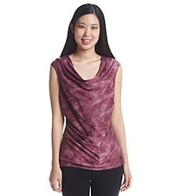AGB® Textured Drape Front Tank