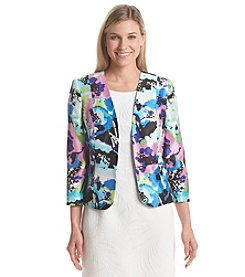 Kasper® Tropical Bouquet Jacket