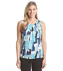 Kasper® Water Color Pleated Cami