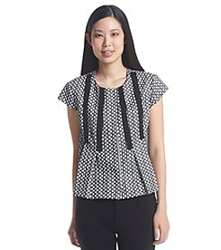 Nine West® Bonded Lace Top