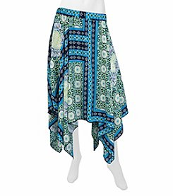 A. Byer Printed Skirt