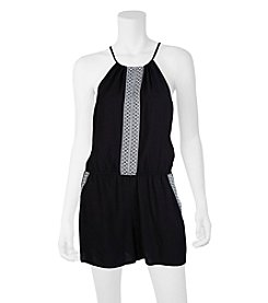 A. Byer Taping Trim Romper