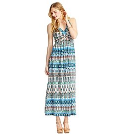 Jessica Simpson Printed Maxi Dress
