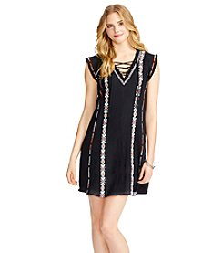 Jessica Simpson Embroidered Shift Dress