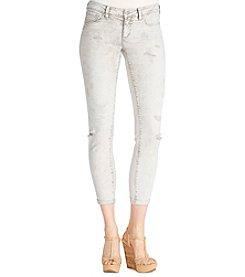 Jessica Simpson Acid Skinny Crop Jeans