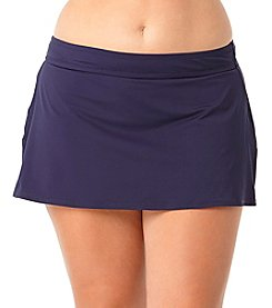 Anne Cole® Plus Size Classic Swim Skirt
