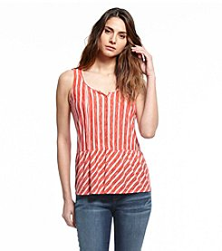 Vintage America Blues™ Button Front Pin Tuck Tank