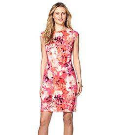 Chaps® Floral Sheath Dress