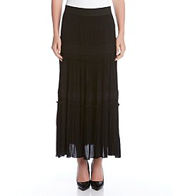 Karen Kane® Long Peasant Skirt