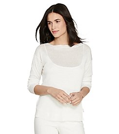 Lauren Ralph Lauren® Relaxed Linen-Blend Sweater