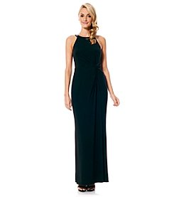 Laundry by Shelli Segal® Twist Front Gown