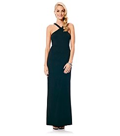 Laundry by Shelli Segal® Sequin Wrap Gown