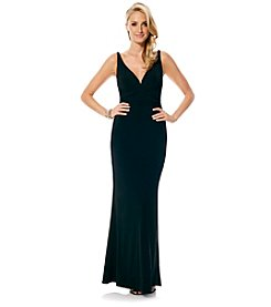 Laundry by Shelli Segal® Open Back Gown