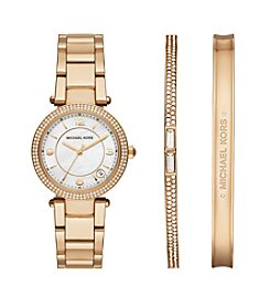 Michael Kors® Goldtone Mini Parker Gift Set