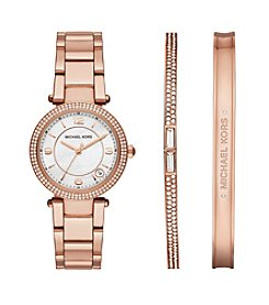 Michael Kors® Rose Goldtone Mini Parker Gift Set