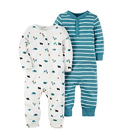 Carter's® Baby Boys 2-Pack Camping Coveralls