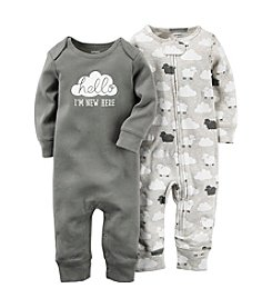 Carter's® Baby 2-Pack Clouds & Sheep Coveralls
