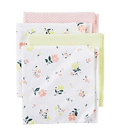 Carter's® Baby Girls' 4-Pack Floral Receiving Blankets