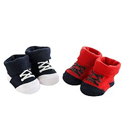Carter's® Baby Boys 2-Pack Sneaker Keepsake Socks