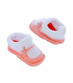 Carter's® Baby Girls' Mary Janes Knit Booties