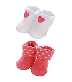 Carter's® Baby Girls' 2-Pack Heart Keepsake Socks