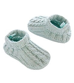 Carter's® Baby Girls' Cable Knit Booties