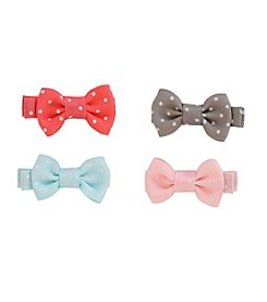 Carter's® Baby Girls' 4-Pack Bow Clips