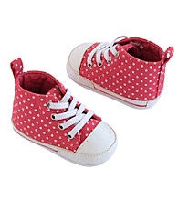 Carter's® Baby Girls' Polka Dot High Top Sneakers