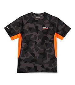 Ralph Lauren Childrenswear Boys' 8-20 Short Sleeve Camo Tee