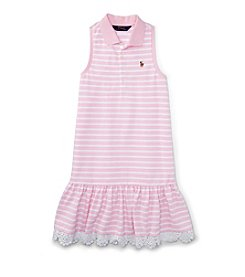 Ralph Lauren Childrenswear Girls' 7-16 Oxford Dress