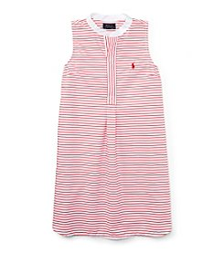 Ralph Lauren Childrenswear Girls' 7-16 Striped Dress