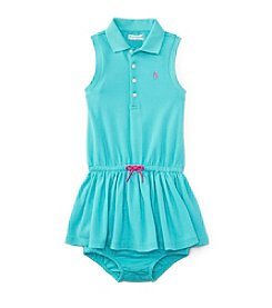 Ralph Lauren® Baby Girls' Polo Dress