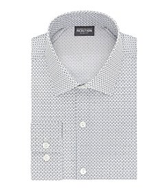 Kenneth Cole REACTION® Men's Slim Fit Printed Long Sleeve Button Down Dress Shirt