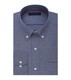 Tommy Hilfiger® Men's Regular Fit Denim Long Sleeve Button Down Collar Dress Shirt