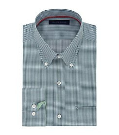 Tommy Hilfiger® Men's Regular Fit Non-Iron Gingham Long Sleeve Button Down Dress Shirt