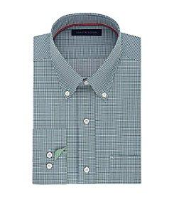 Tommy Hilfiger® Men's Regular Fit Non-Iron Gingham Long Sleeve Button Down Dress Shirt